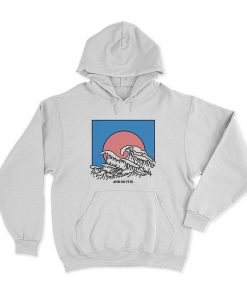 And So It Is Wave Hoodie
