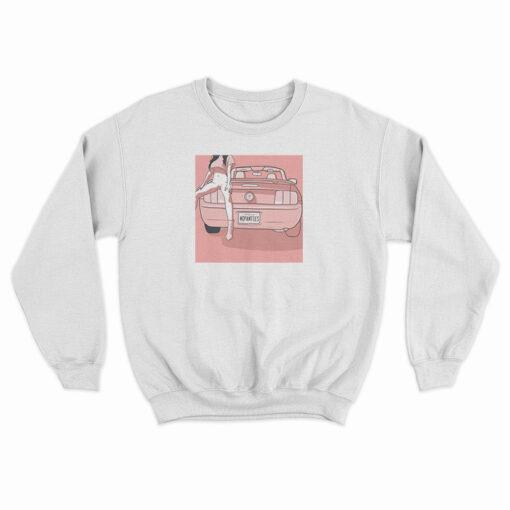No Panties Funny Sweatshirt