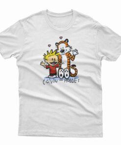 Tiger Calvin And Hobbes T-Shirt
