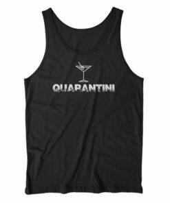 Quarantini Quarantine Martini Tank Top