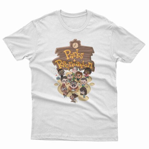 Animal Crossing Parks Recreation T-Shirt