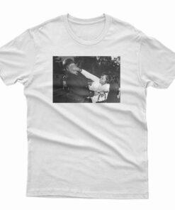 Black Woman Punching Cop T-Shirt