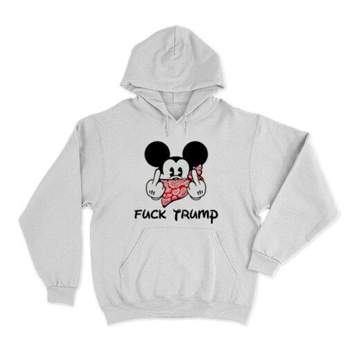Mickey Fuck Trump Hoodie