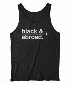 Signature Black And Abroad Tank Top