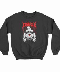Animal Crossing Metal Isabelle Sweatshirt
