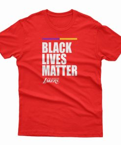 Black Lives Matter Lakers T-Shirt