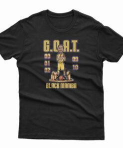 Mamba Day X Goat T-Shirt