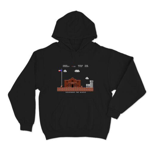 Remember The Alamo Mario T-Shirt
