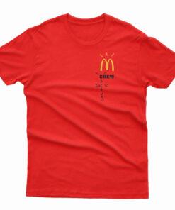 Travis Scott McDonald's Crew Cactus Jack T-shirt