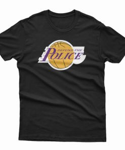 Basketball Defund The Police T-Shirt
